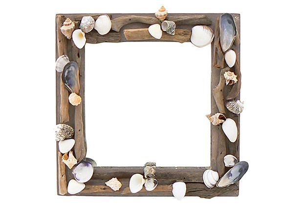 "14"" Driftwood Beach Mirror on OneKingsLane.com"