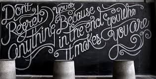 Inspiration for our blackboard wall