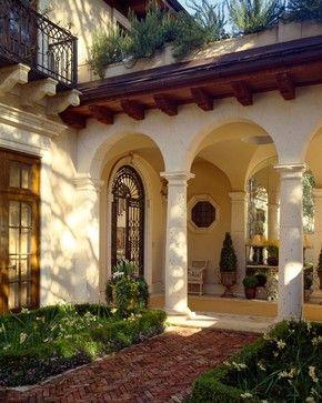 A Texas Home - mediterranean - Entry - Dallas - David Easton Inc.