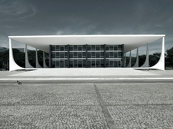 Best of the Brazilians- Palacio do Planalto, Basilia, by Oscar Niemeyer