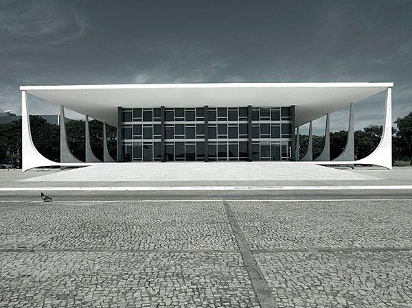 Best of the Brazilians- Palacio do Planalto, Basilia, by Oscar Niemeyer