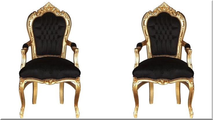 francia barokk karfás székek