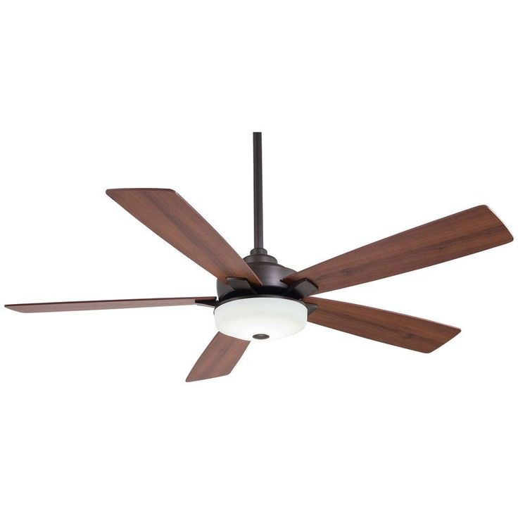 home decorators collection cameron 54 in led oil rubbed bronze ceiling fan