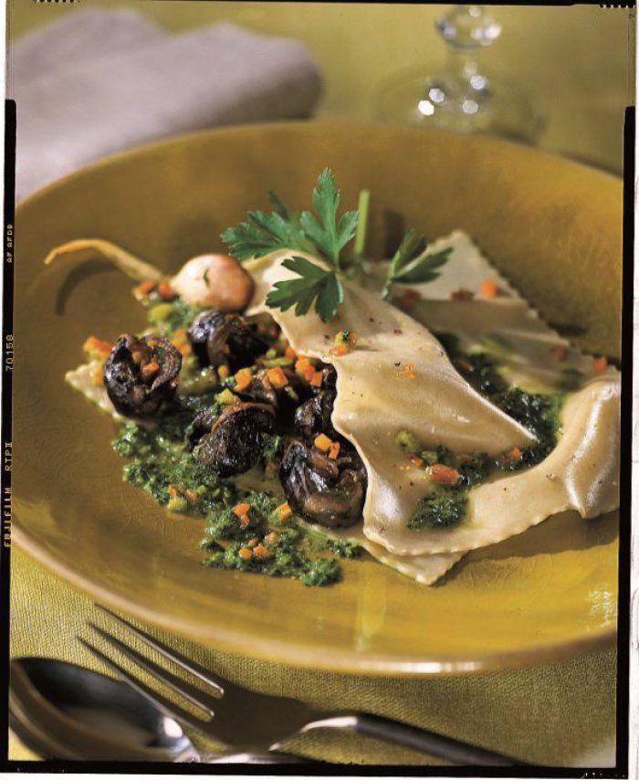 Lasagnes+d'escargots+en+persillade