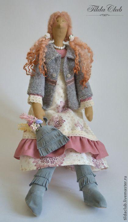 Куклы Тильды ручной работы. Ярмарка Мастеров - ручная работа Кукла интерьерная Тильда: Дженнифер. Handmade.