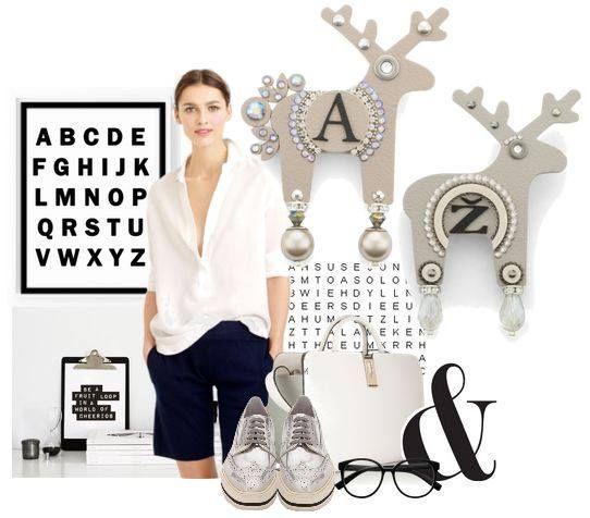 Pokračujeme v tématu monogramů a přinášíme malou inspiraci, jak nosit jelena, od A do Ž