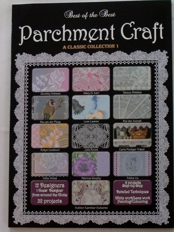 Parchment Craft Books for beginners - Craft Supplies