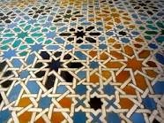 Spanish tile floor.