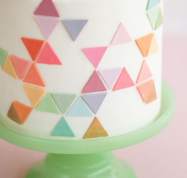 Love this colorful fondant.