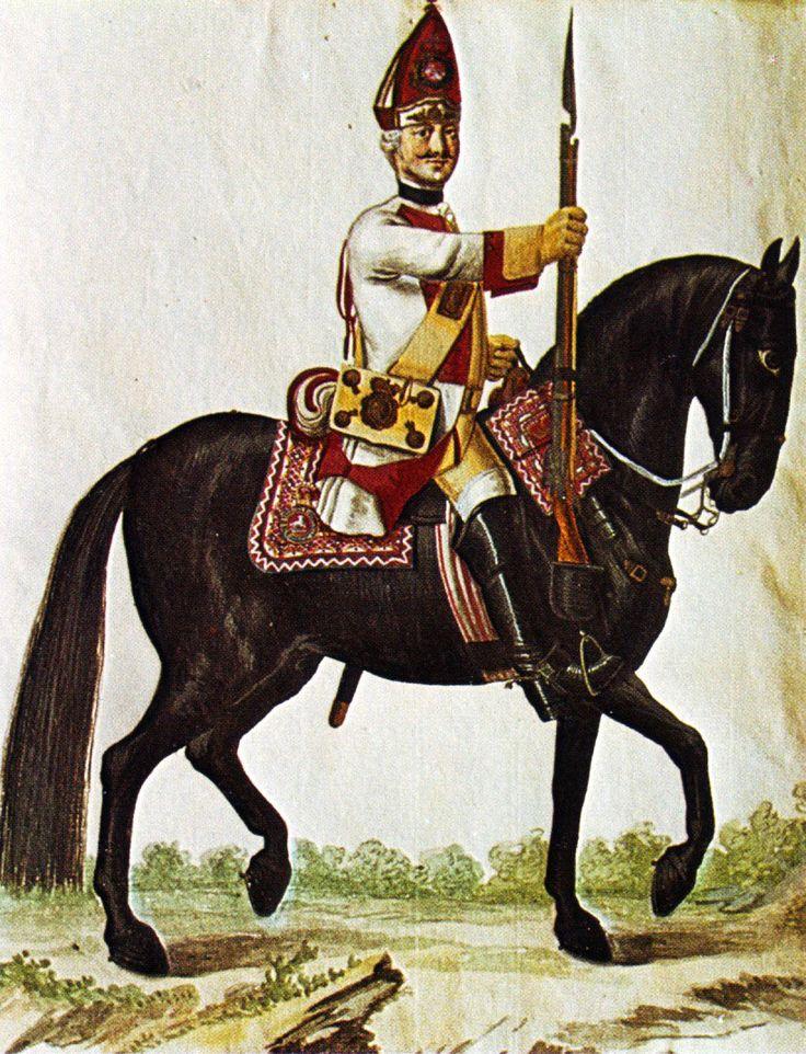 Hanover in the Seven Years War Dragoon Regiment von Bock Grenadier by Karsten