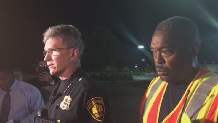San Antonio: Eight found dead in truck at Walmart car park https://tmbw.news/san-antonio-eight-found-dead-in-truck-at-walmart-car-park  Eight people have been found dead inside a trailer truck parked outside a Walmart store in San Antonio, in the US state of Texas, police officials say.Twenty others were in critical or serious condition, some believed to be suffering heatstroke or dehydration, and taken to hospital.Police did not say where the vehicle came from, but confirmed that the driver…