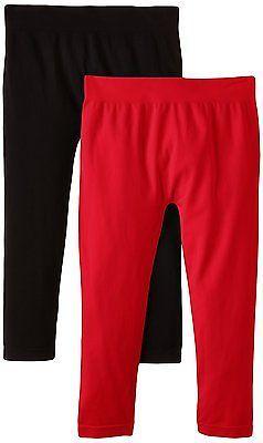 One Size, Red - Rot (rot/schwarz 298/001), Luigi di Focenza Women's Damen Capri-