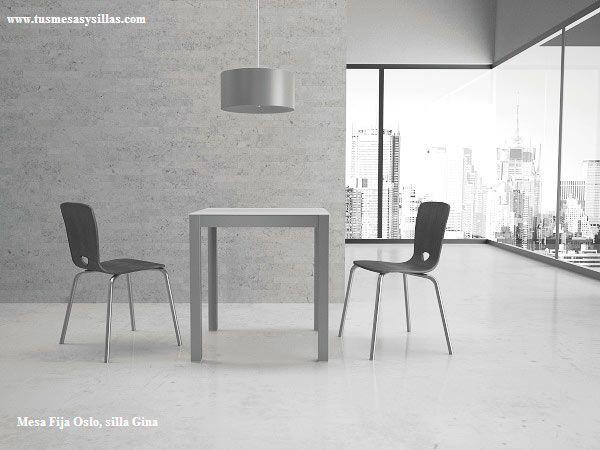 18 best mesa de cocina fija o extensible de estilo nordico en madera y blanco images on - Mesa cocina cuadrada ...