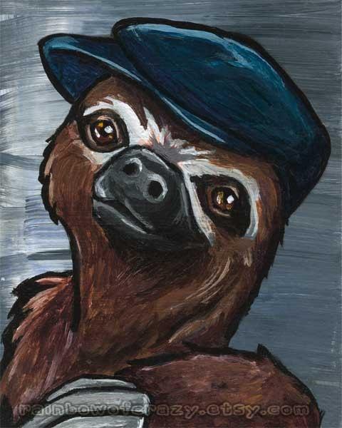 Sloth art project - photo#45