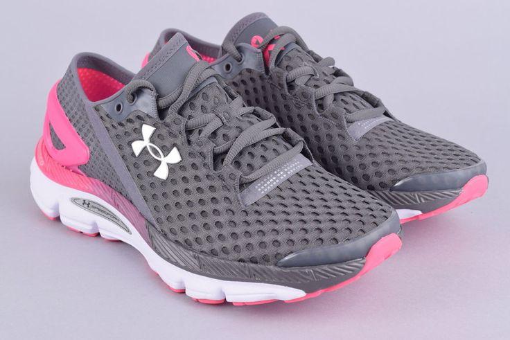 Under Armour Speedform Gemini 2 Running Shoes | Women's 6.5 - 37.5 | Gray Pink #UnderArmour #RunningShoes