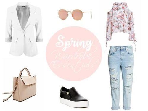 Spring must haves #spring #wardrobeessentials #springoutfit #Springessentials
