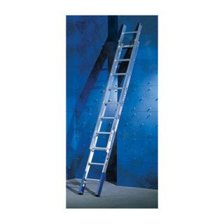 Extension Ladder with Ladder Leveller