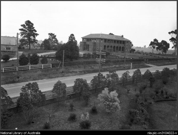Foster, A. G. (Arthur G.)  Distant view of a convent school, Sydney [picture]  [1920-ca. 1945] 1 negative : glass, b ; 16.4 x 21.4 cm.  Part of Collection of photographs of Sydney [picture]  From National Library of Australia collection  http://nla.gov.au/nla.pic-vn3104022  nla.pic-vn3104022