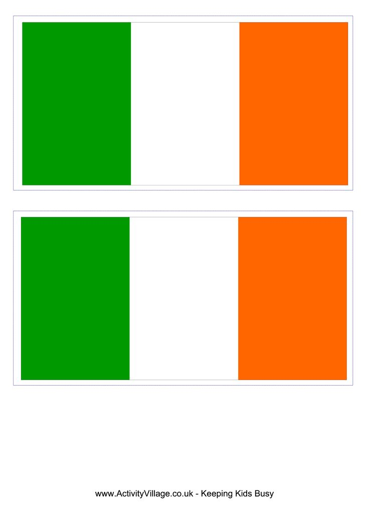 Irish Flag - Free Printable Irish Flag