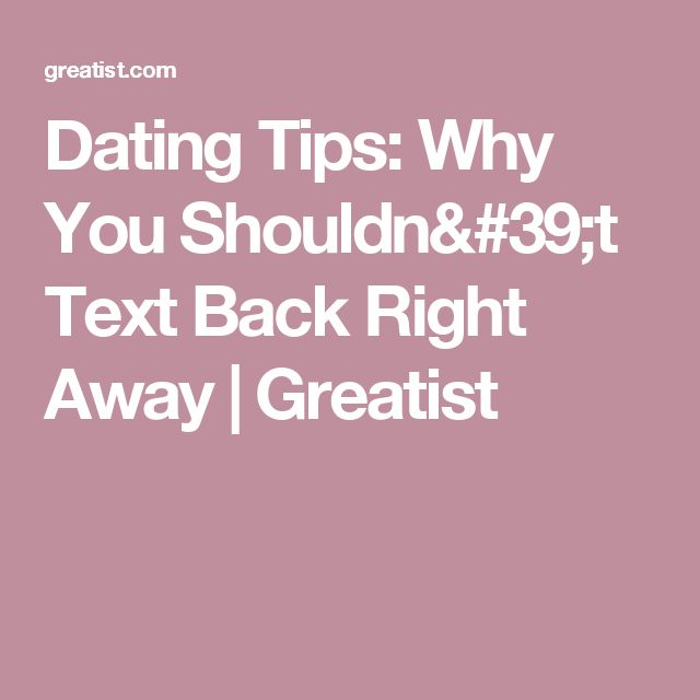 Dating as an adult texting tips