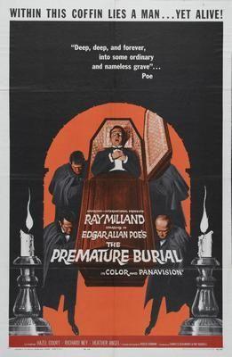 Premature Burial Movie Poster Puzzle Fun-Size 120 pcs