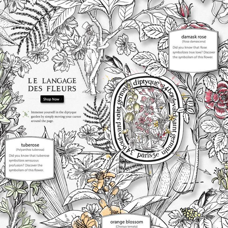 17 best images about le langage des fleurs on pinterest for Langage des fleurs