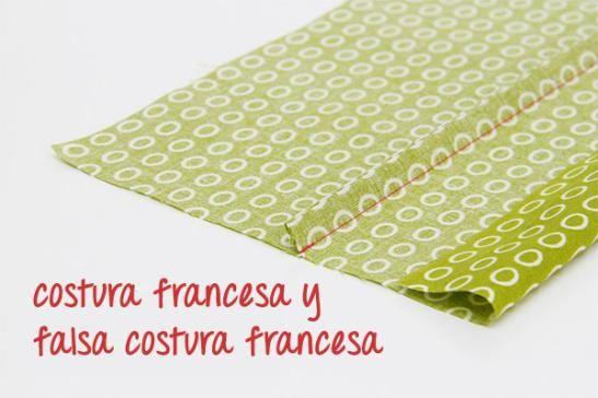 La costura francesapresenta un acabado muy pulido y resistente, se puede realizar en cualquier tipo de tejido. ¿Quieres aprender?