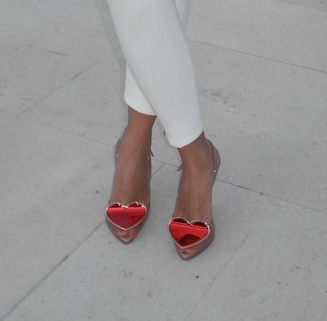 Only a real Fashionista would wear this Vivienne Westwood shoes