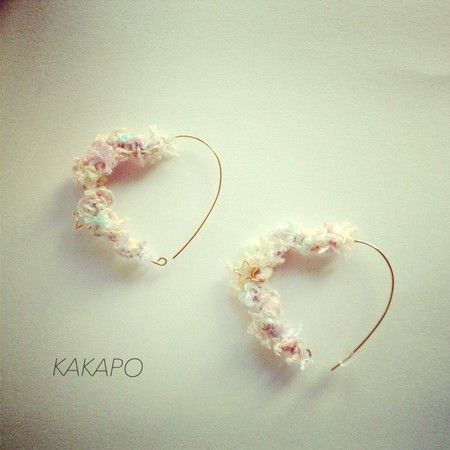 Pastel Heart pierce