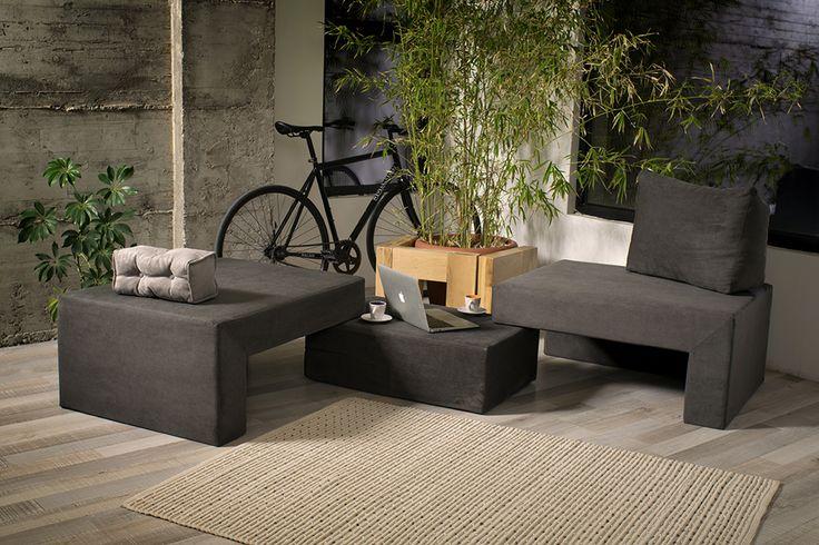 Acest fotoliu-divan este foarte versatil! Pat,fotoliu sau canapea! Il poti folosi cum iti doresti! Si da, iti pune imaginatia la incercare!