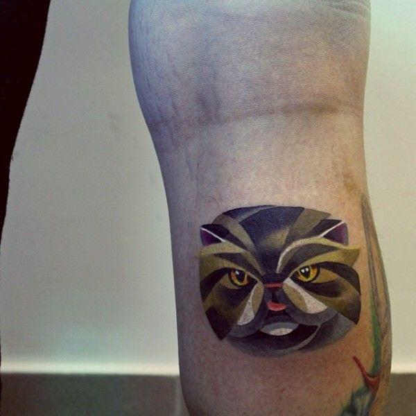 As tatuagens em estilo aquarela de Sasha Unisex