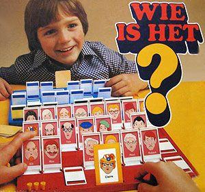 Het spel 'Wie is het?' Zelf maken met de foto's van vriendjes en vriendinnetjes.