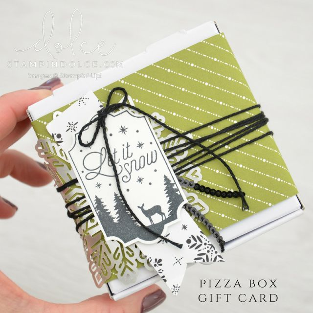 Holiday in 3D - Fancy Friday Blog Hop with Merry Little Christmas from Stampin' Up! - Krista Frattin | Stampin' Dolce