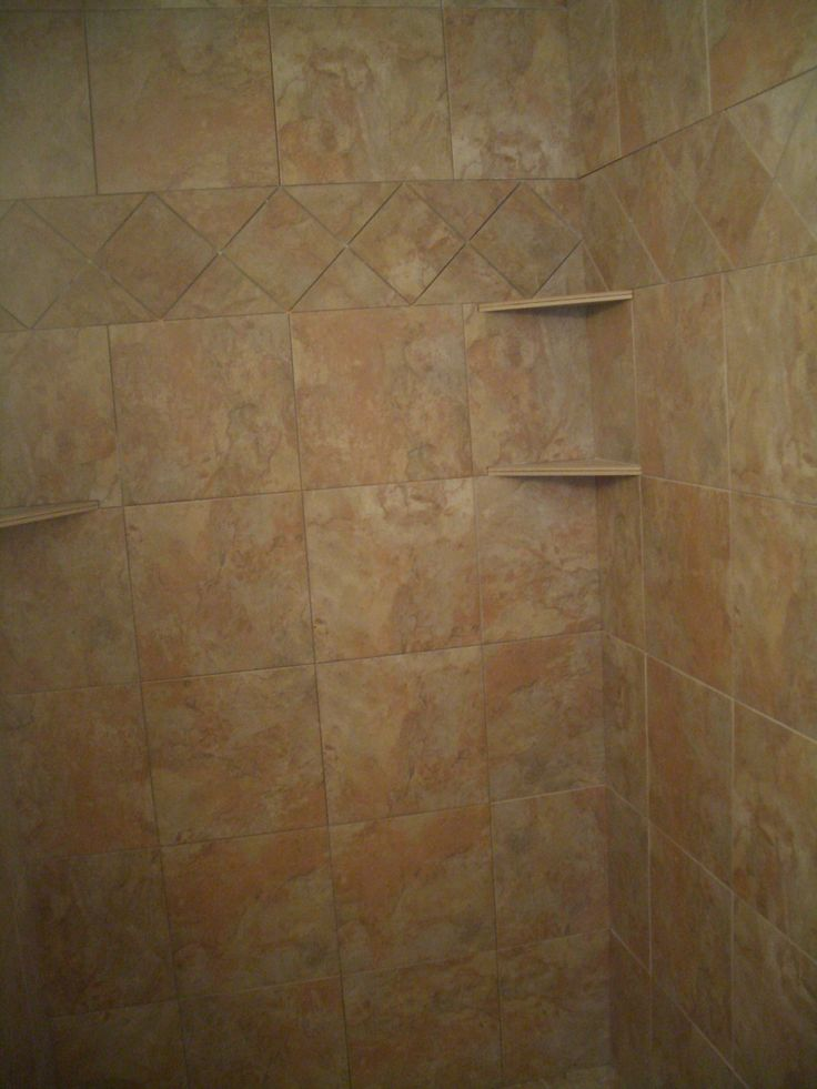 how to build corner shelves from two pieces of ceramic tile bathroom pinterest ceramics. Black Bedroom Furniture Sets. Home Design Ideas