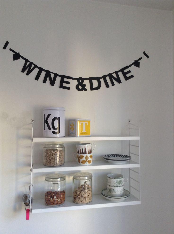 Stringshelf | kitchen