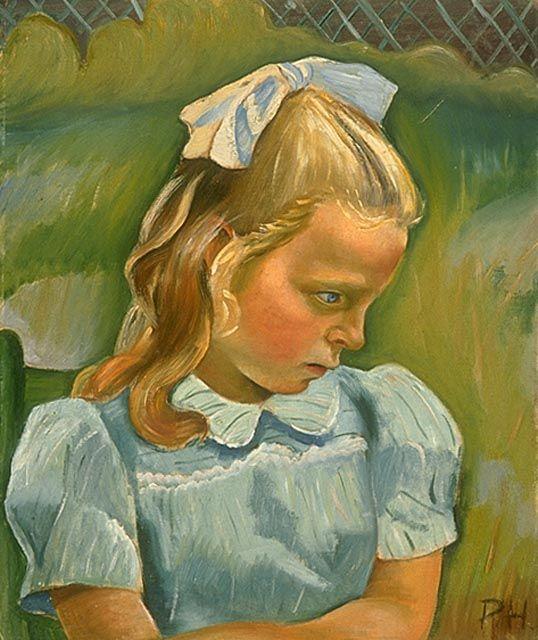 Prudence Heward. Sarah Eliot 1945. Musée des beaux-arts du Canada