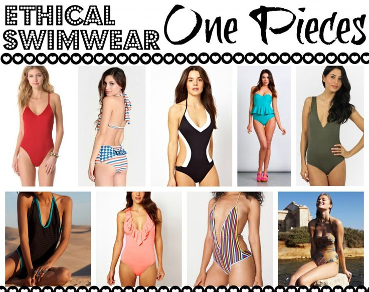Ethical Swimwear-One Pieces - Made-To-Travel.com