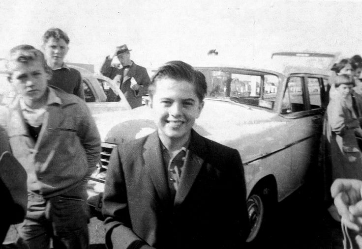"Mouseketeer...Carl ""Cubby"" O'Brien, in Australia. 1959"