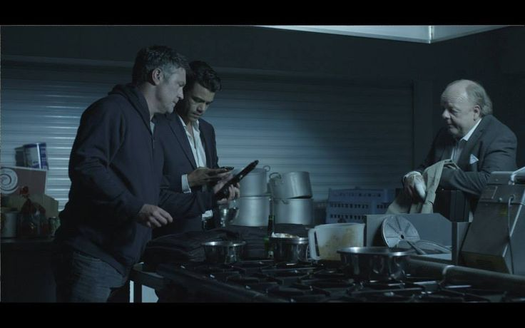 Vincent Regan, Seb Castang,  Roger Ashton-Griffiths