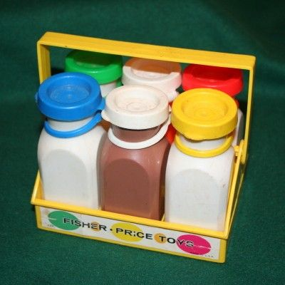 I poured real milk in it....then forgot about it and it got put up in my toy box. NASTY stink for awhile! lol