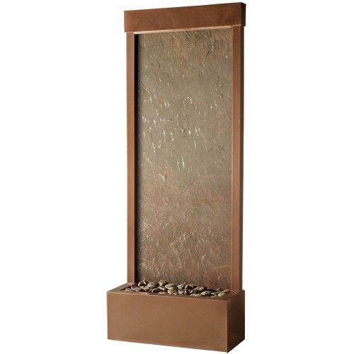 4' Gardenfall Metaline Floor Fountain