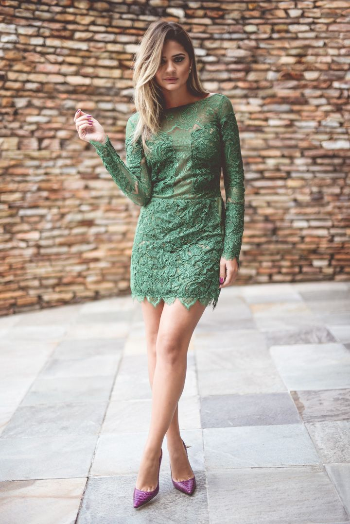 25+ best ideas about Green Lace Dresses on Pinterest ...