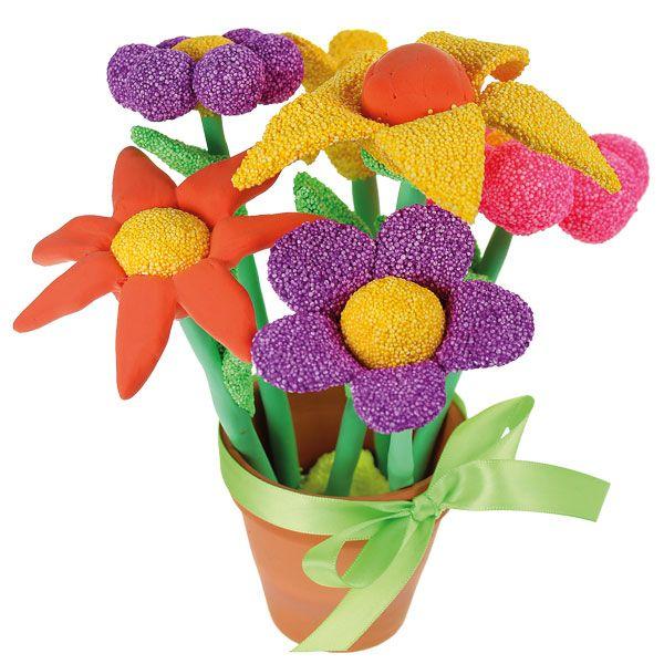 Upeat kukat on valmistettu helmi- ja silkkimassasta! Tarvikkeet ja ideat Sinellistä!