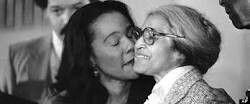 Coretta Scott King and Rosa Parks
