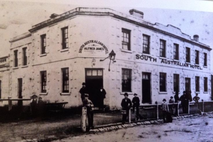 The South Australian #Hotel was built in 1860 and It is the oldest surviving hotel in Mt Gambier