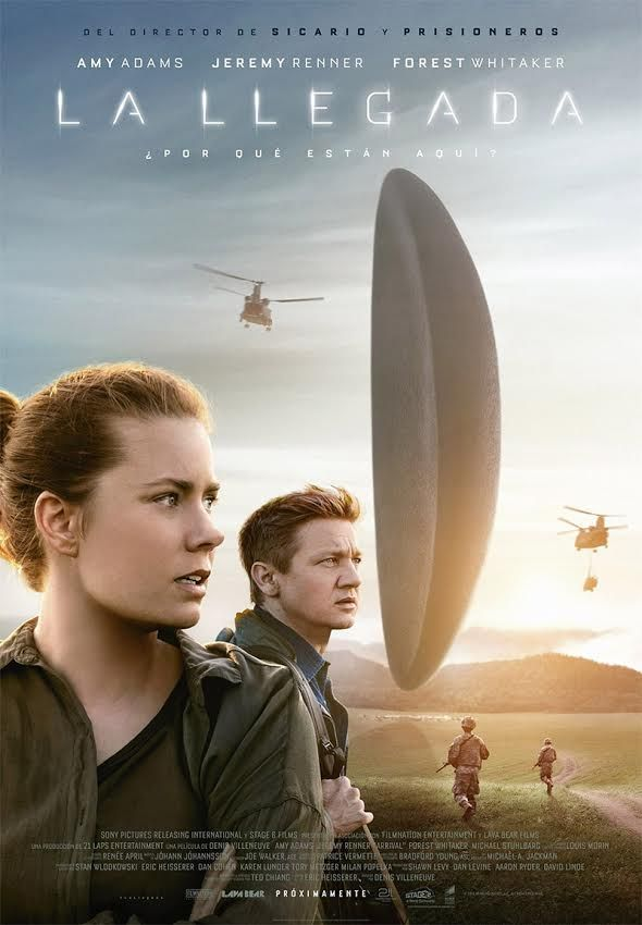 La llegada, interesante película de ciencia ficción de Denis Villeneuve. Crítica de José Manuel Cruz.