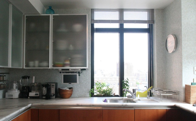 Jane's Lush Penthouse Kitchen (With images) | Sleek ...