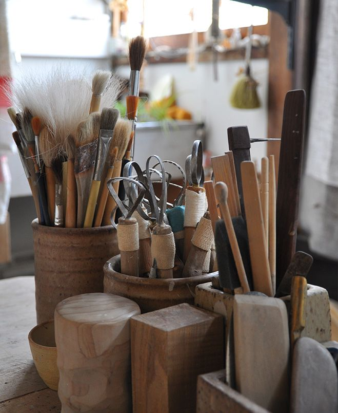 OEN Maker & Japanese Potter – A Glimpse Inside the Studio of Keiichi Tanaka