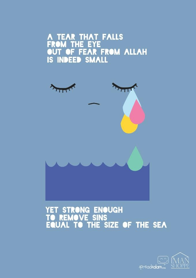 Cry and repent, oh servants of Allah!