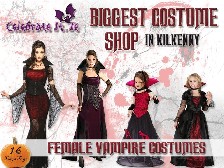 Sexy vampire costumes for women